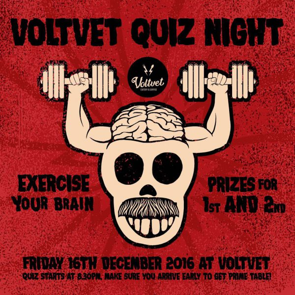 Voltvet Quiz Night 16-12-2016