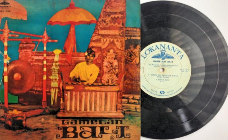 """Gamelan Bali: Keluarga Putera Bali Purantara Jogjakarta (ARD-038, 10"""", tahun tidak diketahui)"""
