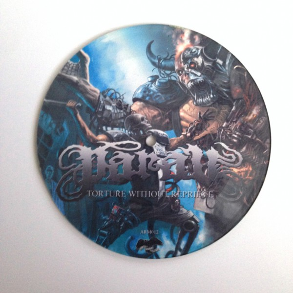 "Picture vinyl dari single Torture Without Reprive oleh Parau (7"", 2013)"