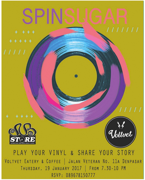 SPIN SUGAR | Play Your Vinyl & Share Your Story