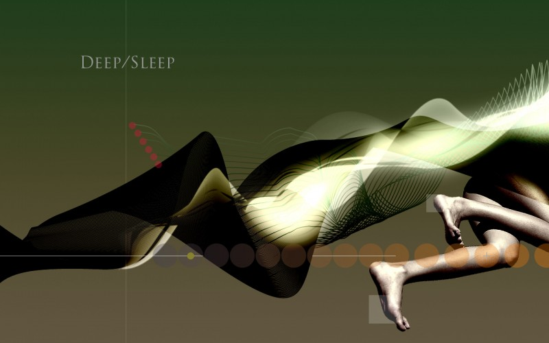 Deep/Sleep (DigiArt, 1280x800px, 2009)